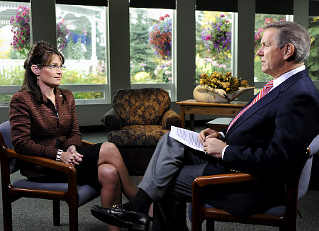 Republican Vice-Presidential candidate Sarah Palin was interviewed by Charles Gibson on ABC News this week.
