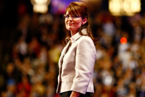Gov. Sarah Palin at the GOP Convention in St. Paul, MN