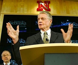 """You certainly want to be competitive. That's probably the overriding issue,"" said University of Nebraska Athletic Direcor Tom Osborne."
