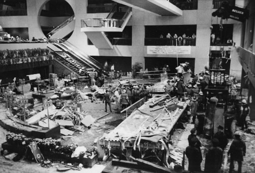 the tragedy at the hyatt regency The tragedy was later determined to be from structurally-unsound rods which suspended the skywalks from the ceiling the hotel, which is owned by crown center and was managed at the time by hyatt.