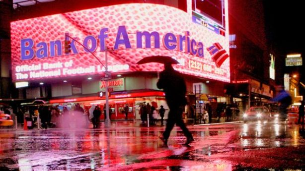Bank-of-American-New-York-City-Branch-Raining