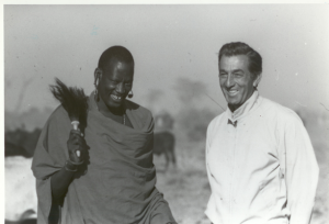 "Don Meier visited Africa to film several episodes of ""Mutual of Omaha's Wild Kingdom"" during the program's 25 year run on television."