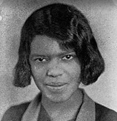 Lucile Bluford was denied admission to the University of Missouri in 1939 based on her race.