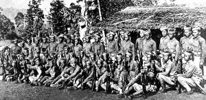 90 percent of Pershing's troops who fought insurgent Moros in the battle of Bud Bagsak was made up of Philippine Scouts that included two Moro companies.