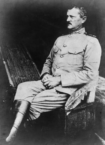 General John J. Pershing was a military governor in the Philippine Moro Province in the early 1900's. Photo: National Archives